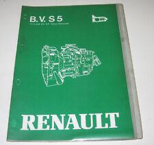 Werkstatthandbuch Renault Getriebe Schaltgabeln Werkzeuge Stand Mai 1981!