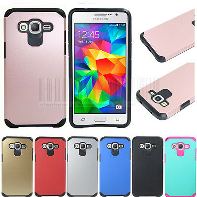 For Samsung Galaxy Grand Prime G530 Hybrid Protective Armor Case Hard Cover Skin