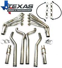 Texas Speed Tsp 2010 15 Camaro 2 Stainless Steel Long Tube Headers Amp Or X Pipe