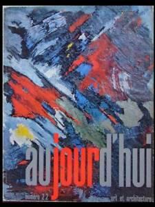 Aujourd'hui Art Architecture N°22 1959 Musee,centre D'art,claude Parent,soultrai Bas Prix