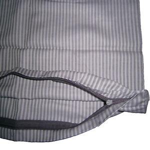 Edel-Satin-Kissenhuelle-Kopfkissenbezug-Kissenbezug-80x80-cm-Gestreift-Baumwolle