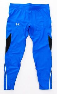70d5e885a4217 Image is loading Under-Armour-Blue-UA-Coolswitch-Compression-Run-Tights-