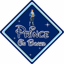Disney Prince On Board Car Sign – Baby On Board – Beauty & The Beast DB
