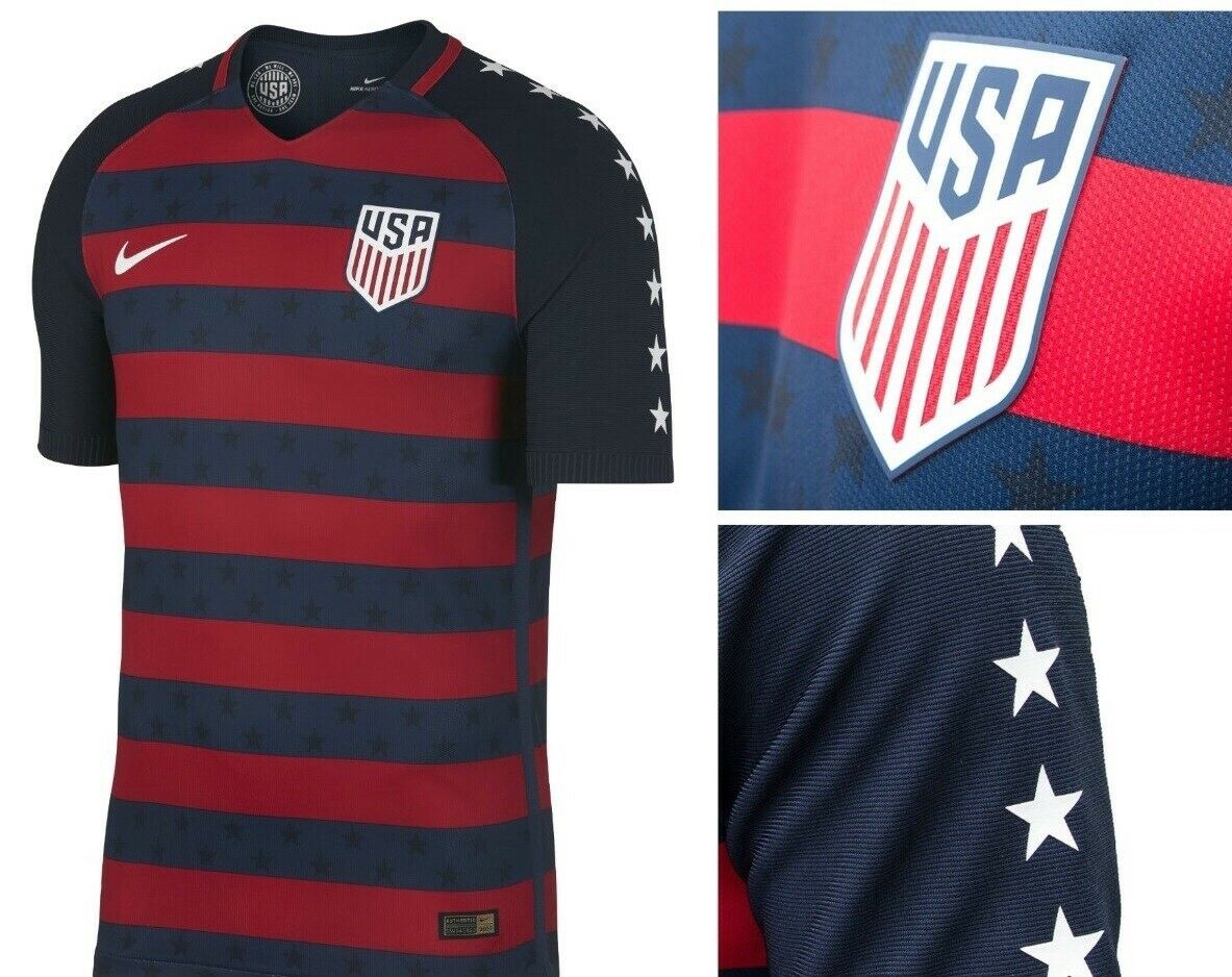 USA Away Football Shirt 2017 18 XL