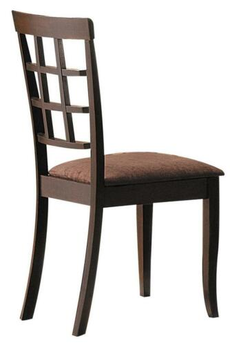 Acme Cardiff Espresso Dark Brown MFB Side Chair (Set of 2) Rbw MFB CA Foam Cafr