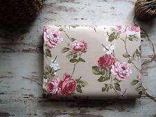 Wunderschön! Stoff Rosen Natur Beige Rosa  Baumwolle Provence  Stoff