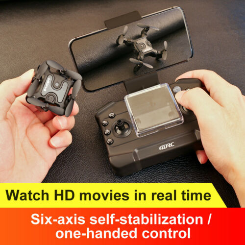 4DRC-V2 Mini  Drone With 720P HD Wifi FPV Camera Foldable RC Quadcopter for kids