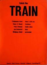 TRAIN - Tourplakat - 60er Jahre - Jazz - Concert - Catch... - Tourposter - Rot