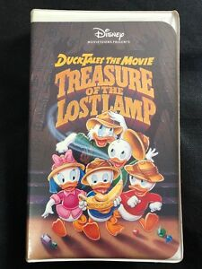 Details About Ducktales The Movie Treasure Of The Lost Lamp Vhs 1991
