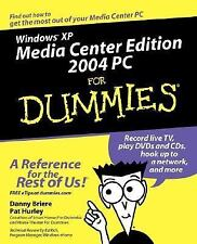 Windows XP Media Center Edition 2004 PC For Dummies (For Dummies (Computers))