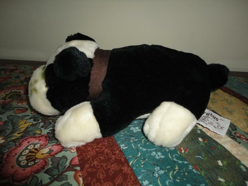 Russ Berrie BRUTUS BULLDOG Laying Dog Nr 24184 RetiROT