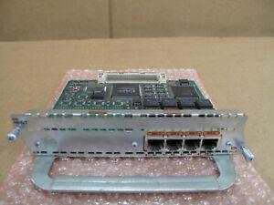 Cisco Bri 4b-s/t Rnis 4 Port Ethernet Réseau Rj45 Module Carte 800-01236-03b0-afficher Le Titre D'origine Couleurs Harmonieuses