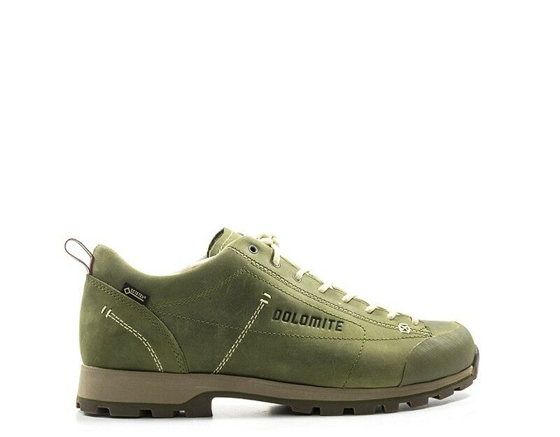 shoes DOLOMITE men Trekking  green Pelle naturale 247959-MILI