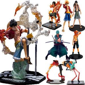 One-Piece-PVC-Figure-Monkey-D-Luffy-Ace-Zoro-Sanji-Anime-Figurine-Toy-Collection