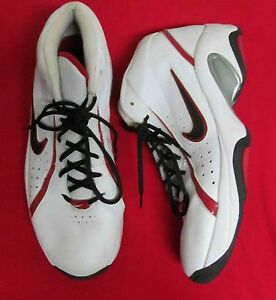 50606da35106 Nike Overplay IV Mens Basketball Shoes 318853-102 White Red Black US ...