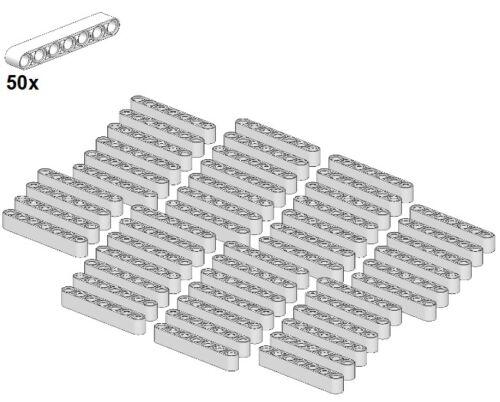 White LEGO® - Balken 20Stk 1x9 Weiß Gera Technic Liftarms 40490-05