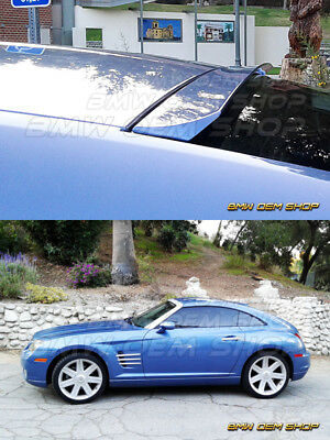UNPAINTED FURIOUS REAR ROOF SPOILER WING FOR CHRYSLER CROSSFIRE COUPE 04-08