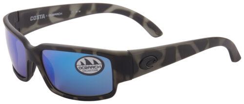 Costa Del Mar Caballito Sunglasses CL-140OC-OBMGLP Tiger Shark Blue Mirror 580G