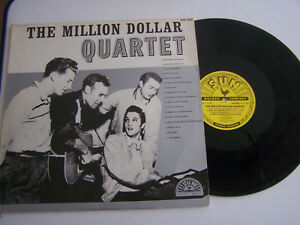 33-T-VINYLE-THE-MILLION-DOLLAR-QUARTET-ELVIS-PRESLEY-VG-EX-U-S-A