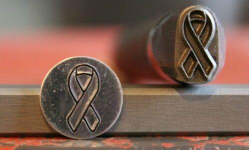 "SUPPLY GUY 3//8/"" 1//2/"" or 5//8/"" Advantage Series Awareness Ribbon Metal Stamp AD27"