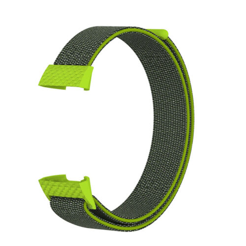Strap Replacement Wristband Breathable Nylon Fiber Band For Fitbit Charge 3