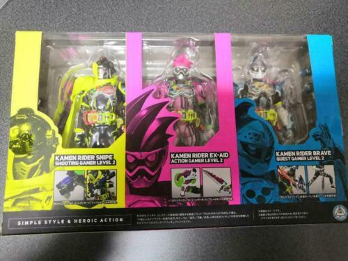 Figuarts Kamen Rider EX-AID Mighty Action X Beginning Set Bandai Masked S.H