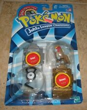 "RARE Vintage Pokemon ""New"" Johto League Champions Figure ENTEL & UNOWN MOSC"