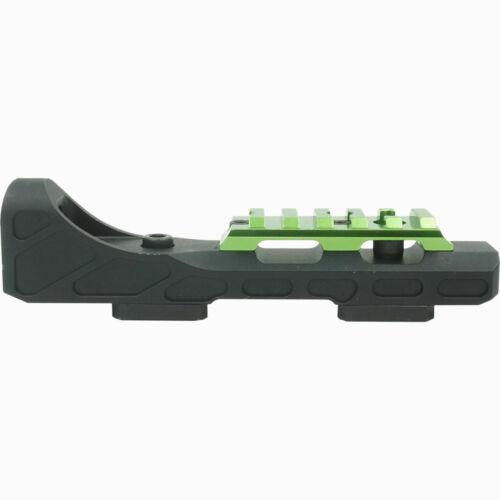 New Muzzy Bowfishing Tac Rail Reel Seat Black And Green Model # 1098