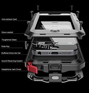 Metal-Aluminium-Gorrila-Glass-WaterProof-ShockProof-Case-For-Samsung-S8-Note9