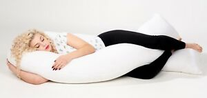 U-Pillow-Cushion-Hug-body-Maternity-Pregnancy-Nursing-Back-support-12-or-9ft