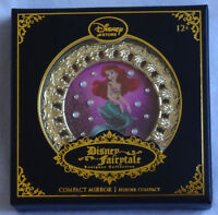 Disney Store D23 2015 Designer Fairytale Collection Ariel Compact Mirror Mermaid