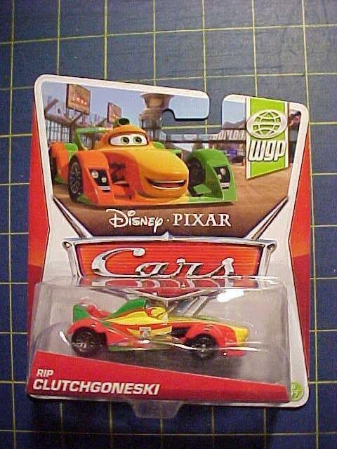Disney//Pixar Cars Rip Clutchgoneski Die-Cast Vehicle #8 of 17 WGP Series 1:55 Scale