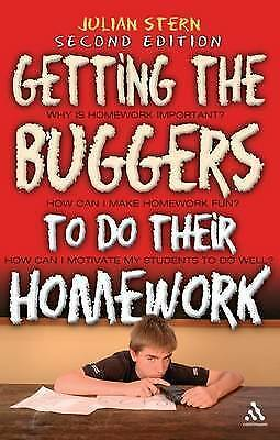1 of 1 - Getting the Buggers to Do Their Homework 2nd edition (new)1st post