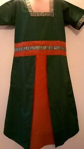 1930s 40s WWII Victorian Roman Viking Anglo Saxon Tudor Village girl/'s Costume