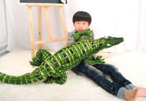 New-79-034-65-034-39-034-Crocodile-Plush-toy-Stuffed-Animal-Doll-Soft-Toy-Pillow-Cushion