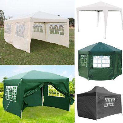 2x2m 2.5x2.5m 3x6m Pop up Canopy Party Wedding Gazebo Tent with//without Sidewall