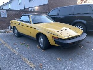 1980 Triumph TR7 Convertible Second Owner. Certified.