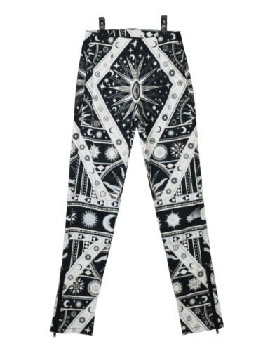 Black Astrological Legging White Ktz Print And New ZwxF7EqE