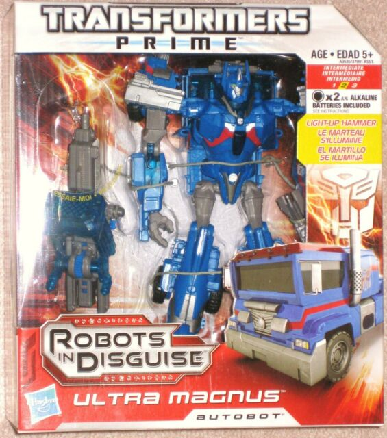 Transformers Prime Robots in Disguise RID Voyager Ultra Magnus MISB