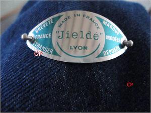 1 Plaque Etiquette Aluminium Bleue Pour Lampe Jielde Plus Rivets éLéGant Dans Le Style