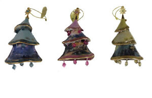 Details About Thomas Kinkade Christmas Tree Ornaments 2nd Set Of 3 Christmas Classics Orns