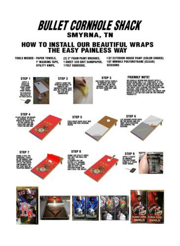 Atlanta Falcons /& Greenbay Packers 0713 cornhole board vinyl wraps stickers