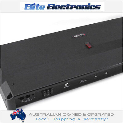 MB QUART RA1000.4 REFERENCE 4/3/2 CHANNEL BRIDGEABLE 1000W CAR AMPLIFIER RA10004