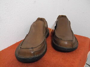 brand new men's dr scholl's brown casual slipon shoes