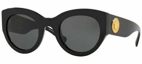 2a49caf48c Versace 4353 51 Gb1 87 Tribute Sunglasses Black Sunglasses Grey Lens Woman