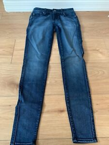 Details about Fidelity Denim Womens Mila Mid Rise Ankle Slim Pismo Size 26 NWT MSRP $205