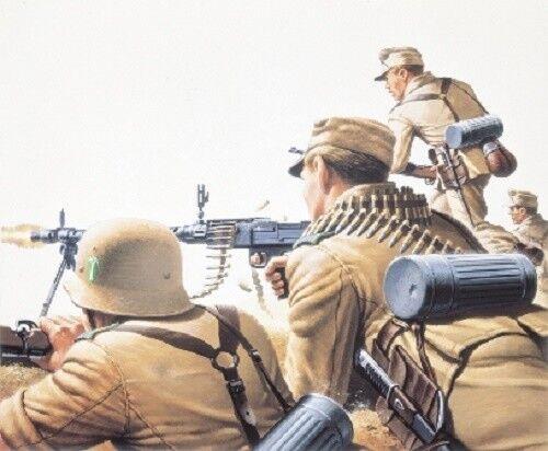 WK2 Soldaten 1:72 Airfix 01711 A01711 WWII Afrika Korps