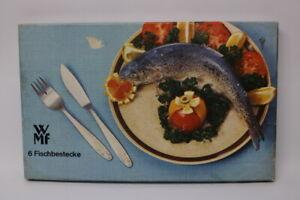 Vintage WMF 6 Fischbesteck 50er Jahre