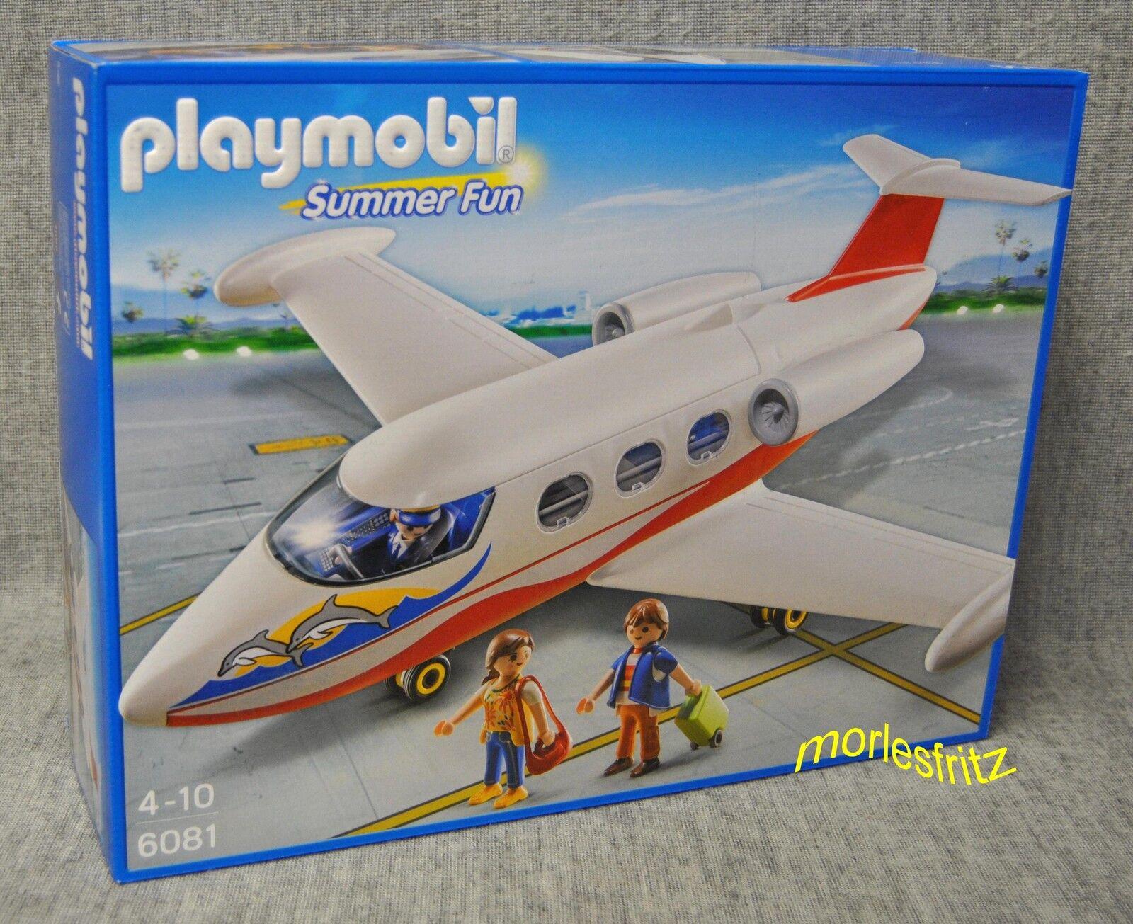 Playmobil 6081 FERIENFLIEGER - Summer Fun - Ferien AIRPORT Flughafen Neu