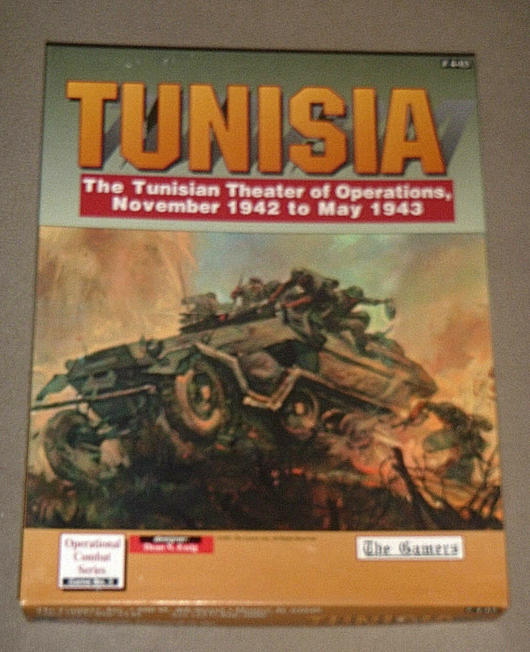 Tunisia   November 1942 - May 1943 - The Gamers {UNUSED-UNPUNCHED-100% COMPLETE}
